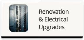 Renovation and Electrical Upgrades